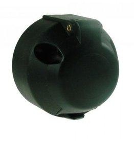 12v 7 Pin Plastic Trailer Socket NICKEL Pins