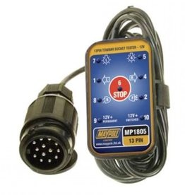 Maypole 13 Pin Tow bar Socket Tester