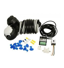 Maypole 12N 12S Wiring Kit Audible Relay with 30A Dual Charging Relay