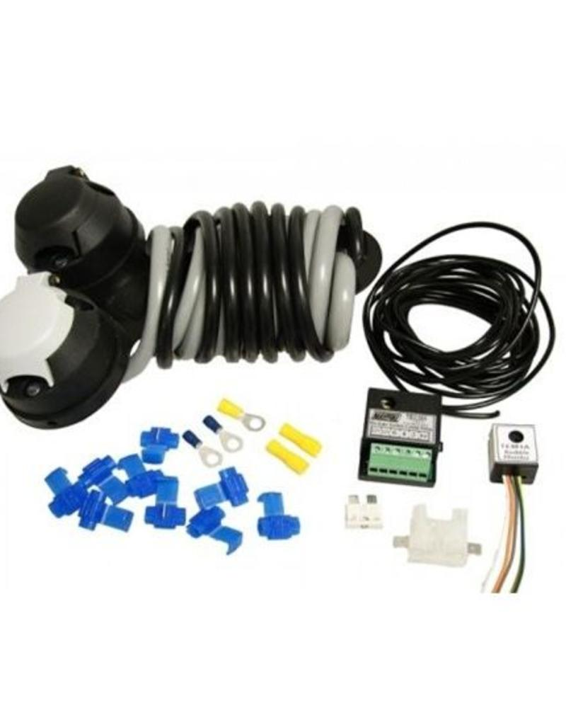 12n 12s Wiring Kit Audible Relay With 30a Dual Charging Kits For Trailers Maypole Fieldfare Trailer Centre