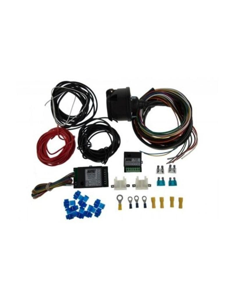13 Pin 2m Wiring Kit 7 Way Bypass Relay And 30a Combi Wire Trailer Maypole Fieldfare