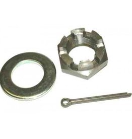 Castelled Trailer Axle Nut M24 x 1.5 Pack of 2