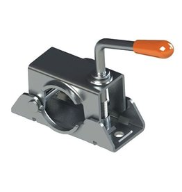 Kartt Orange 48mm Diameter Split Jockey Wheel Clamp