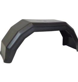 8 inch Single Black Mudguard