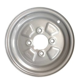 Mini Style 10 inch Rim Steel 3.50J x 4 inch PCD x 4 Holes