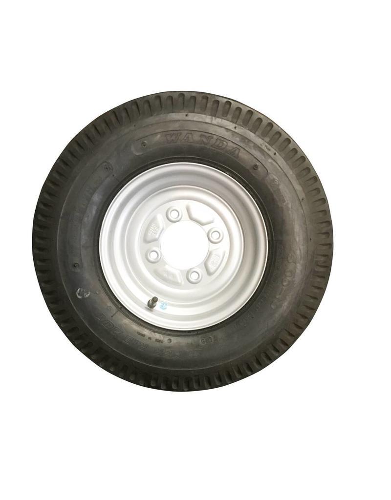 500 x 10 Wheel & Tyre 6 PLY in White 4 Stud | Fieldfare Trailer Centre