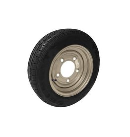 Maypole 155/70R12C 104N/102N 5 STUD 6.5 PCD Silver Trailer Wheel & Tyre