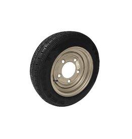Maypole 155/70R12C  5 STUD 112mm PCD ET30 Silver Trailer Wheel & Tyre