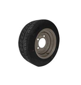 185/60R12C 104N/101N 5 STUD 6.5 PCD Silver Trailer Wheel & Tyre