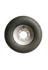 400 x 8 Wheel & Tyre 4 PLY in Silver 115mm pcd | Fieldfare Trailer Centre