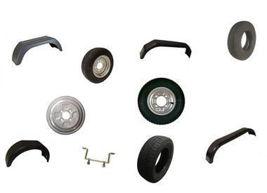 Mudguards, Rims, Tyres, Wheels