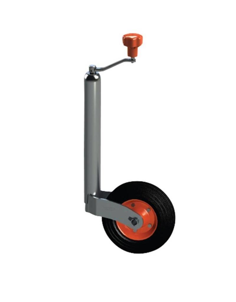 48mm Kartt Orange Jockey Solid Wheel Metal Rim   Fieldfare Trailer Centre