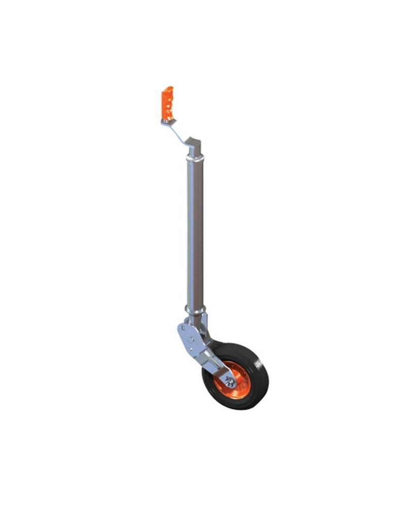 48mm Kartt Orange Jockey Metal Rim Solid Wheel Smooth Auto Lift   Fieldfare Trailer Centre