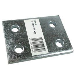 Maypole Zinc Plated 2 Inch Drop Plate