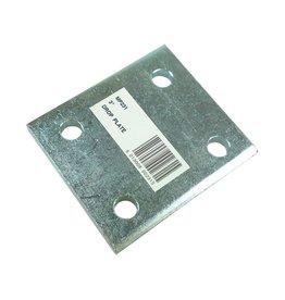 Maypole Zinc Plated 3 Inch Drop Plate