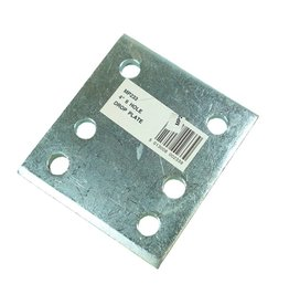 Maypole Zinc Plated 4 Inch Drop Plate