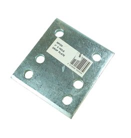 Maypole Zinc Plated 4 Inch Drop Plate
