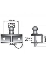 Maypole 50mm Combined Ball and Pin | Fieldfare Trailer Centre