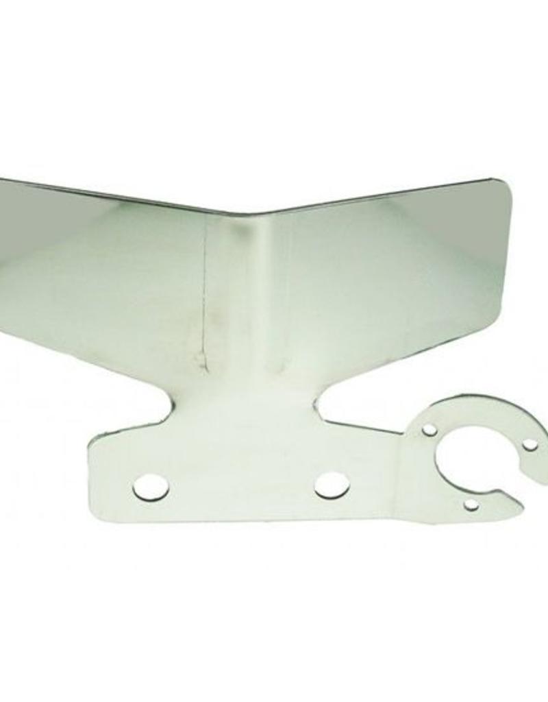 Maypole Stainless Steel Tow bar Car Bumper Protector Single Socket | Fieldfare Trailer Centre