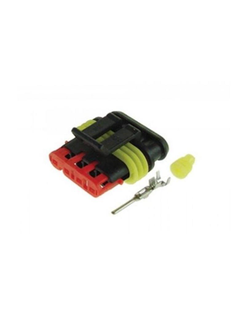 4 Way Male Plug Pack of 10 | Fieldfare Trailer Centre