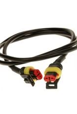 4m Light Link Harness 2 x Superseal Plugs   Fieldfare Trailer Centre