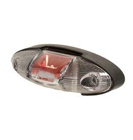 Maypole Trailer Red White LED Outline Trailer Marker Lamp