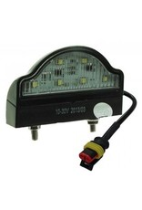 10-30V LED Number plate Lamp with Super Seal Plug | Fieldfare Trailer Centre