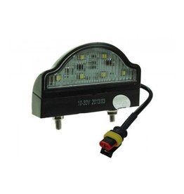 10-30V LED Number plate Lamp with Super Seal Plug