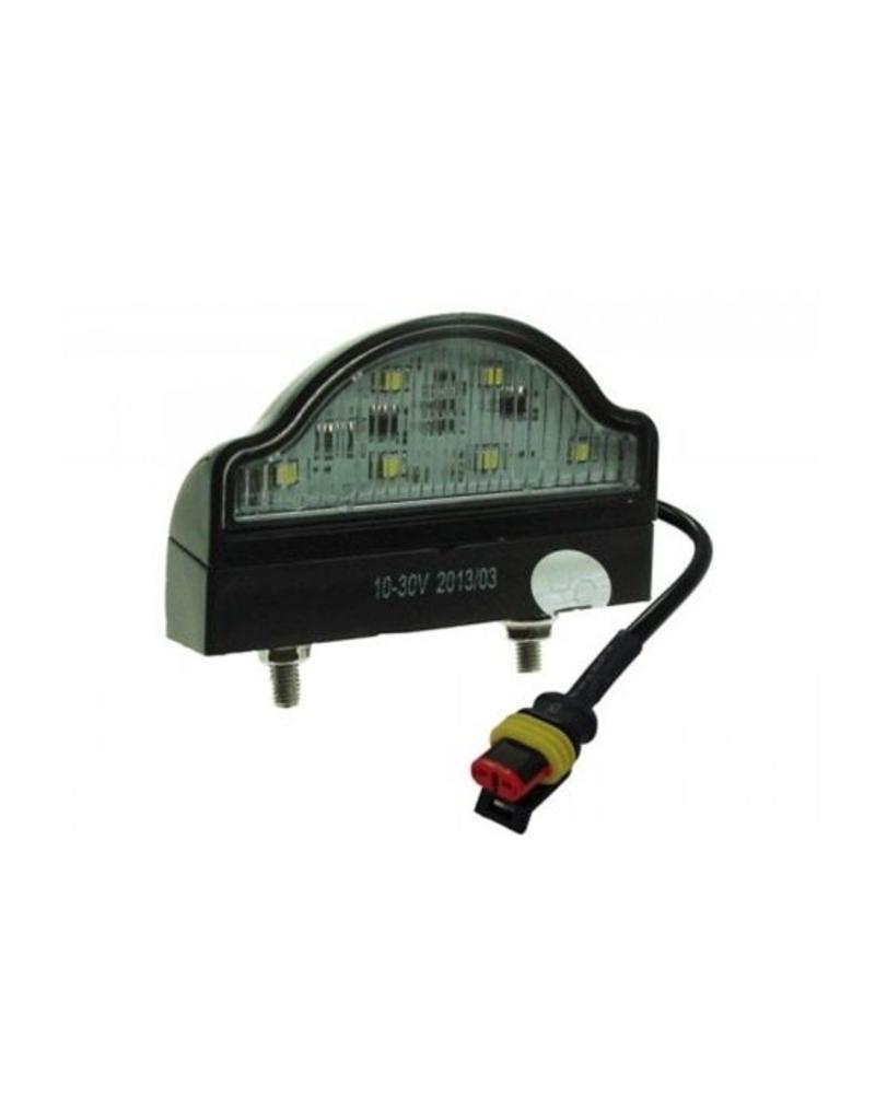 Maypole 10-30V LED Number plate Lamp with Super Seal Plug | Fieldfare Trailer Centre