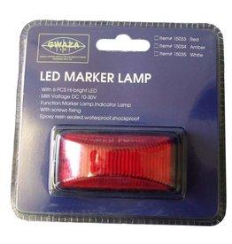 GWAZA GWAZA LED Trailer Red Marker Lamp