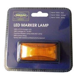 GWAZA GWAZA LED Trailer Amber Marker Lamp
