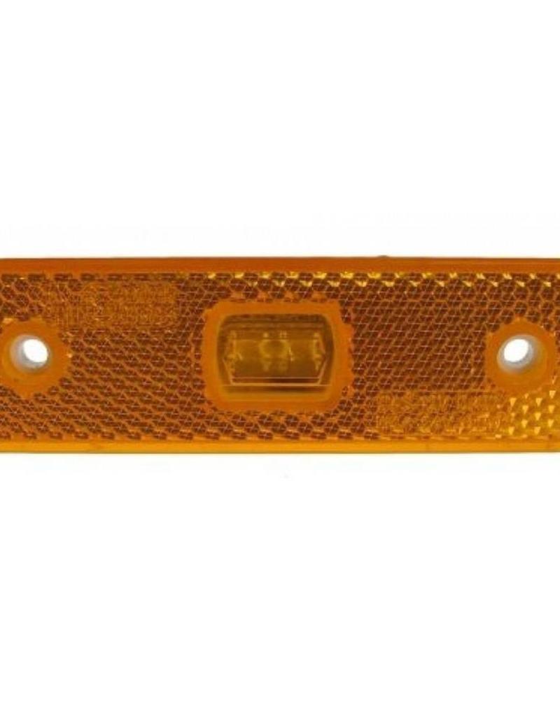 Maypole 12-24V Amber LED Trailer Marker and Reflector   Fieldfare Trailer Centre