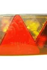 Aspock Aspock Multipoint 4 Right Hand Side Trailer Light Lens | Fieldfare Trailer Centre