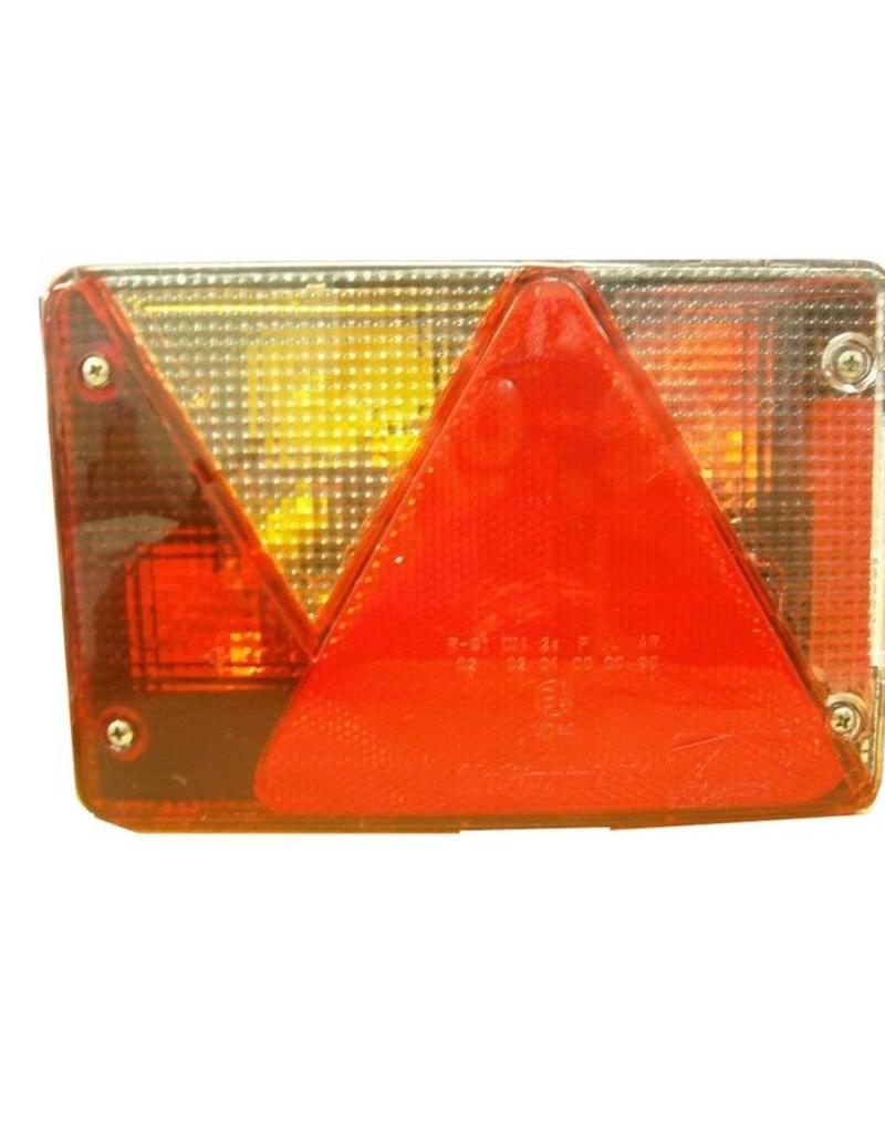 Aspock Aspock Multipoint 4 Left Hand Side Trailer Light Lens | Fieldfare Trailer Centre