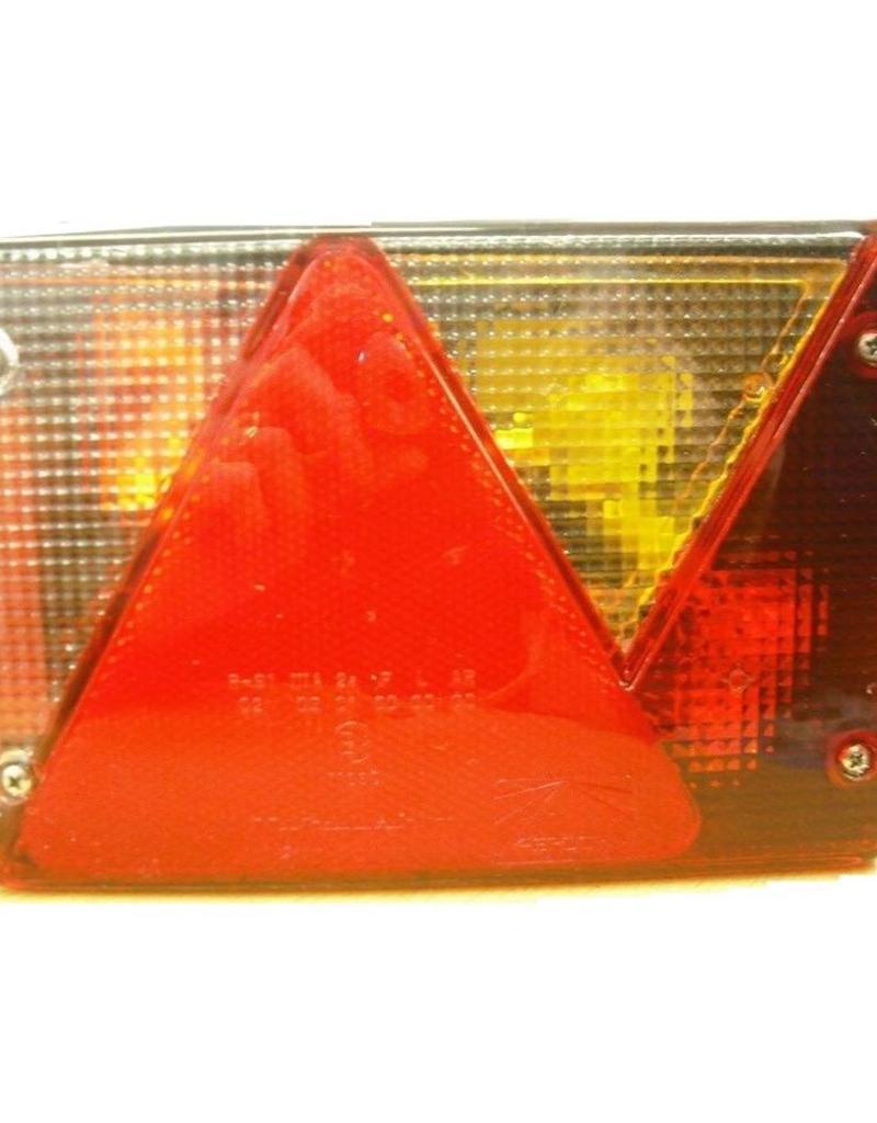 Aspock Multipoint 4 Right Hand Side Trailer Light Unit | Fieldfare Trailer Centre
