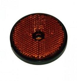 Maypole RADEX Round Amber Trailer Reflector 60mm Diameter