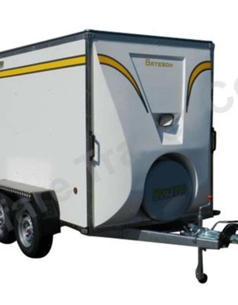 Batesons Bateson 240V Twin Axle 2.4 x 1.5m Box Van Trailer | Fieldfare Trailer Centre