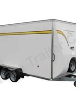 Batesons Bateson 550V Twin Axle 4.2m x 1.8m Box Van Trailer | Fieldfare Trailer Centre