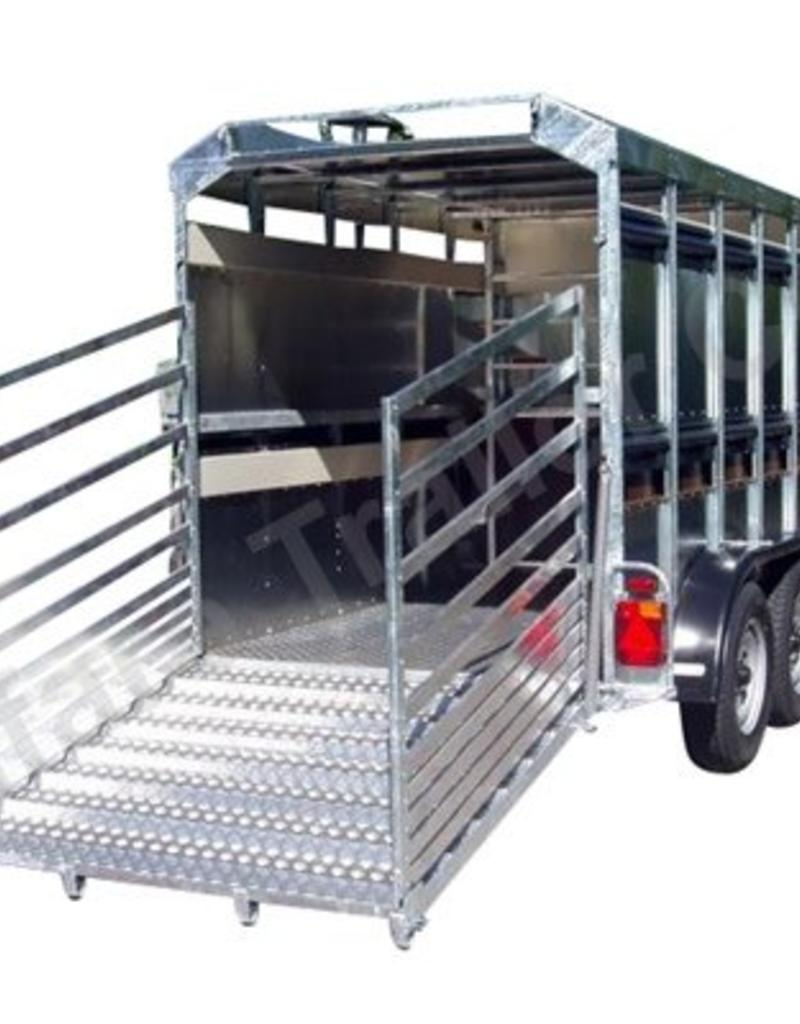 Batesons Eurostock 316 Double Axle Livestock Trailer | Fieldfare Trailer Centre