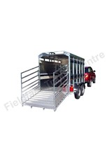 Batesons Eurostock 315 Double Axle 3m Livestock Trailer   Fieldfare Trailer Centre