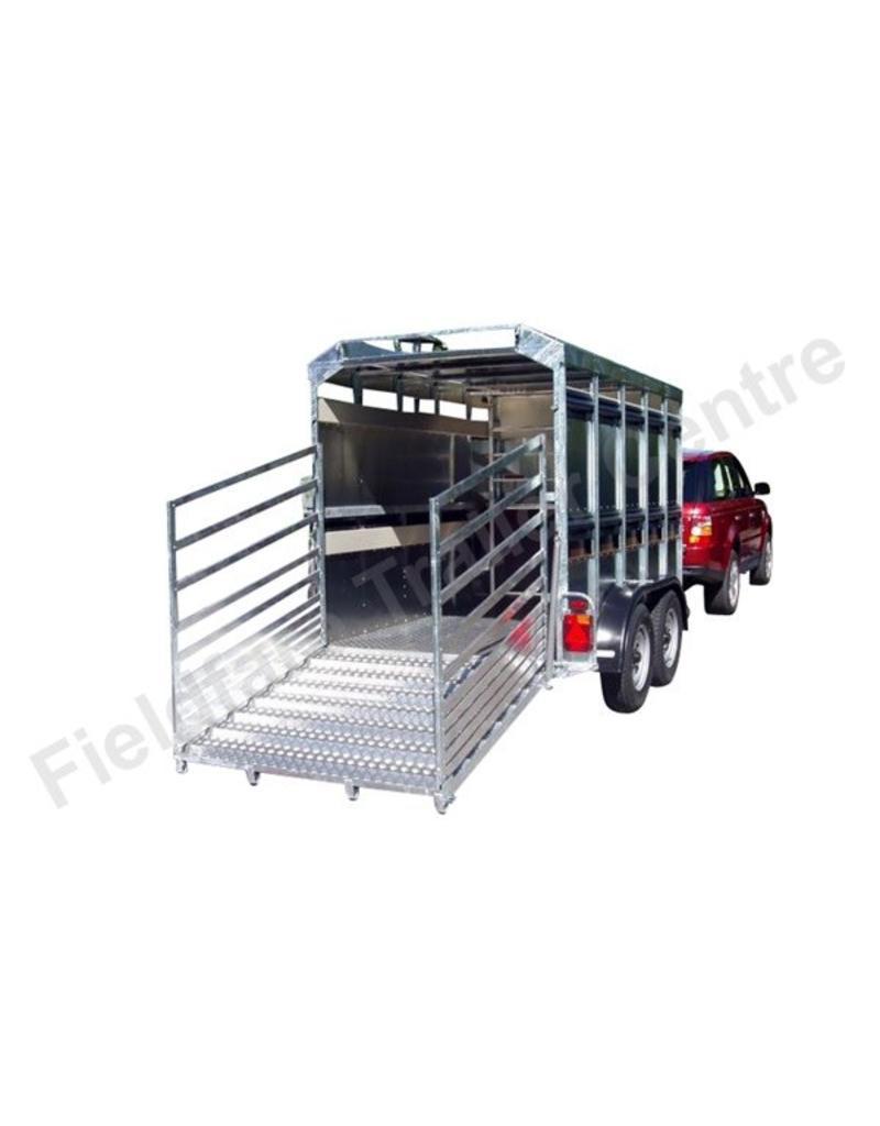 Batesons Eurostock 315 Double Axle 3m Livestock Trailer | Fieldfare Trailer Centre