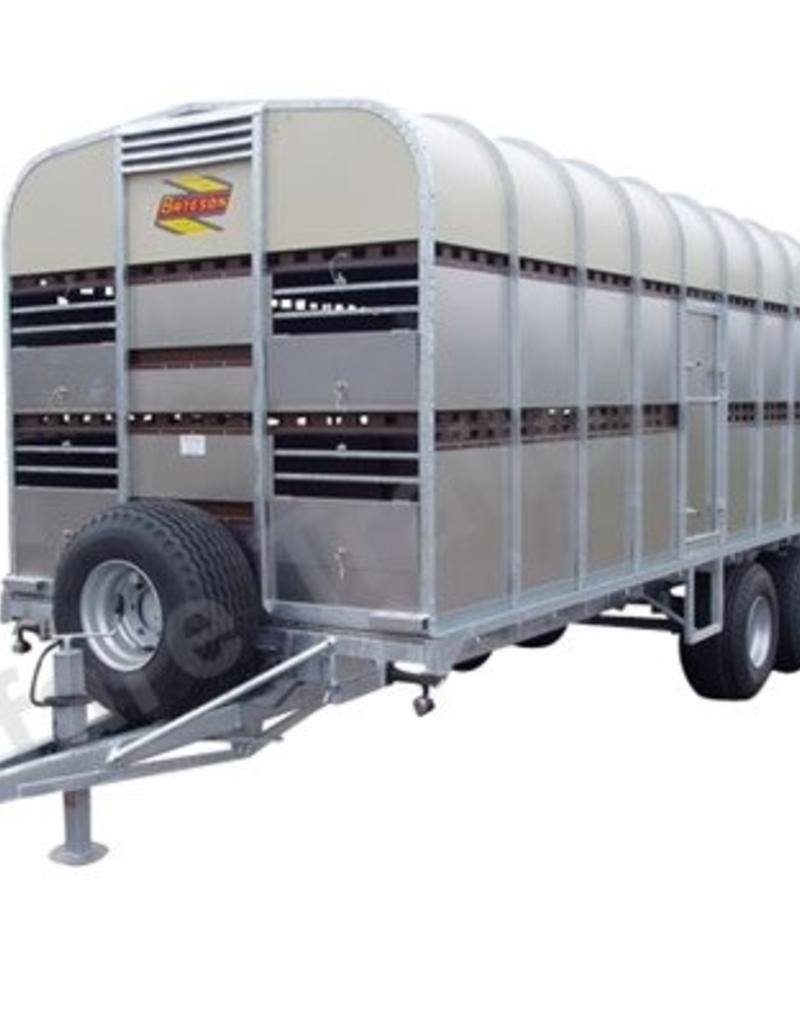Batesons Bateson 100LT Double Axle Livestock Trailer| Fieldfare Trailer Centre