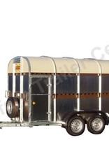 Batesons Bateson 42LT Double Axle Livestock Trailer | Fieldfare Trailer Centre