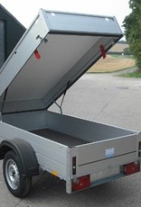 Anssems Anseems GT750-201 Light Goods Trailer with Lid| Fieldfare Trailer Centre