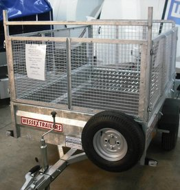 Wessex Wessex UBGT64 Light Goods Trailer with Fitted Mesh Sides