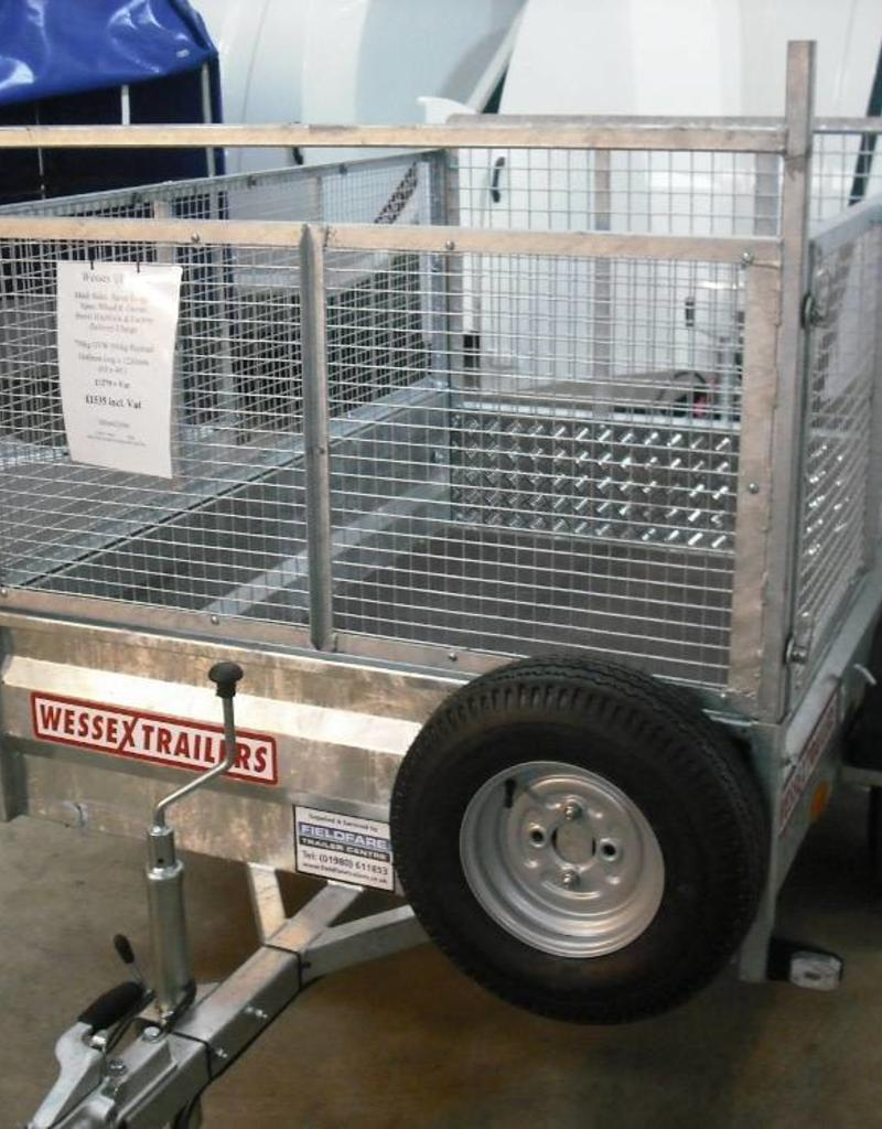 Wessex Wessex UBGT64 Light Goods Trailer with Fitted Mesh Sides| Fieldfare Trailer Centre