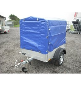 Anssems Anssems GT500-151 Trailer with High Cover & Frame