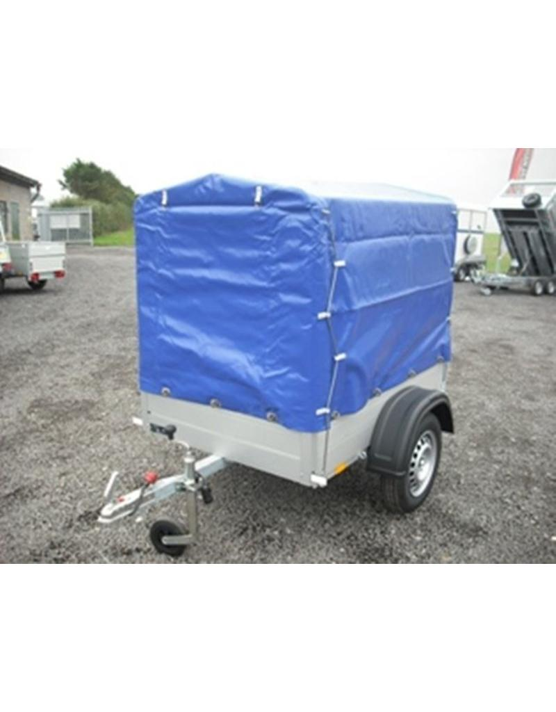 Anssems Anssems GT500-151 Trailer with High Cover & Frame | Fieldfare Trailer Centre