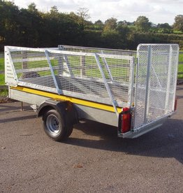 Batesons Bateson Unbraked B84 Single Axle Trailer