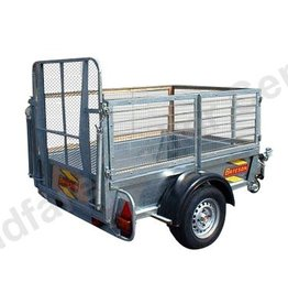 Batesons Model 0642 Bateson Single Axle 1.8 x 1.2m Trailer
